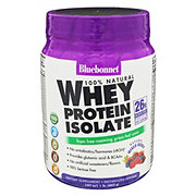 Bluebonnet 100% Natural Whey Protein Isolate Mixed Bry