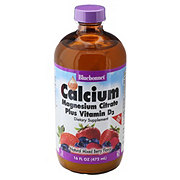 Bluebonnet Liquid Calcium Magnesium Citrate Mixed Berry