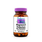 Bluebonnet Magnesium Potassium Plus Bromelain