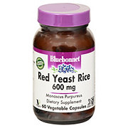 Bluebonnet Red Yeast Rice 600 mg Vegetable Capsules