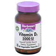 Bluebonnet Vitamin D3 5000 IU