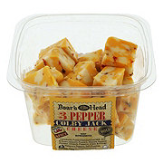 Boar's Head 3 Pepper Colby Jack Cheese Cubes