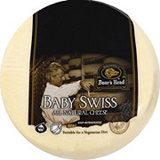 Boar's Head Baby Swiss Cheese, sold by the