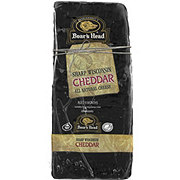 Boar's Head Black Wax Cheddar Cheese, sold by the