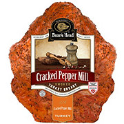 Boar's Head Cracked Pepper Mill® Smoked Turkey Breast, sold by the