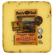 Boar's Head Italian Herb Mozzarella Whole Milk