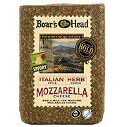 Boar's Head Italian Style Herb Coated Whole Milk Mozzarella