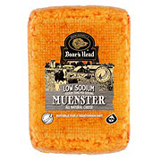 Boar's Head Muenster Cheese Low Sodium