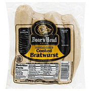 Boar's Head Natural Casing Cooked Bratwurst