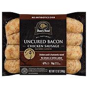 Boar's Head Pecan Wood Smoked Bacon Chicken Sausage