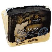 Boar's Head Pre-Cut Baby Swiss Cheese