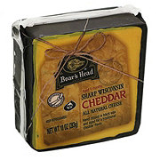 Boar's Head Pre-Cut Black Wax Cheddar Cheese
