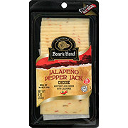 Boar's Head Pre-Sliced Monterey Jack with Jalapeño Cheese