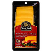 Boar's Head Pre-Sliced Yellow American Cheese