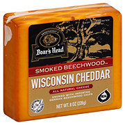Boars Head Pre-cut Beechwood Wisconsin Smoked Cheddar
