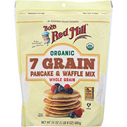 Bob's Red Mill Organic 7 Grain Pancake & Waffle Mix
