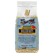 Bob's Red Mill Organic Whole Grain Old Fashioned Rolled Oats