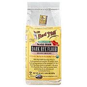 Bob's Red Mill Organic Whole Grain Stone Ground Dark Rye Flour