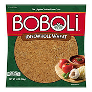 Boboli 100% Whole Wheat Pizza Crust