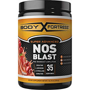 Body Fortress Super Advanced NOS Blast Pre-Workout Fruit Punch