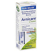 Boiron Arnicare Pain Relief Arnica Cream And Blue Tube Value Pack