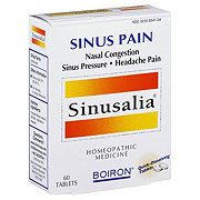 Boiron Sinusalia Sinus Pain Tablets
