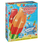 Bomb Pop Original Hawaiian Punch Frozen Pops