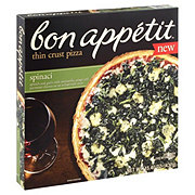 Bon Appetit Thin Crust Pizza, Spinaci