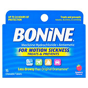 Bonine Motion Sickness Chewable Tablets