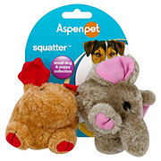 Booda Squatter Moose & Elephant Small Dog & Puppy Toys