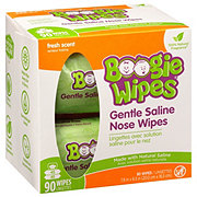 Boogie Wipes Saline Wipes Fresh Scent
