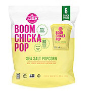 BOOMCHICKAPOP Sea Salt Popcorn Snack Packs