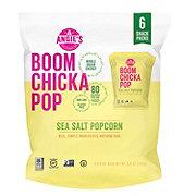 BOOMCHICKAPOP Sea Salt Popcorn Snack Packs