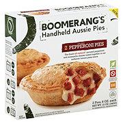 Boomerang's Pepperoni Handheld Aussie Pies