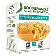 Boomerang's Tex-Mex Scramble Aussie Pie