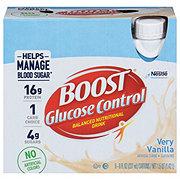 BOOST Glucose Control Nutritional Drink Vanilla Delight 6 pk