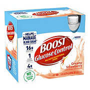 Boost Glucose Control Strawberry Nutritional Drink 6 pk