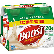 Boost High Protein Complete Nutritional Drink, Very Vanilla