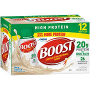 BOOST High Protein Nutritional Drink Very Vanilla 12 pk