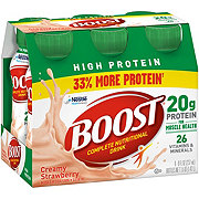 Boost High Protein Nutritional Energy Drink, Strawberry