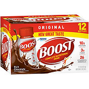 BOOST Original Complete Nutritional Drink Rich Chocolate 12 pk
