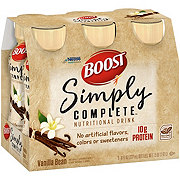 BOOST Simply Complete Nutritional Drink Vanilla Bean 6 pk