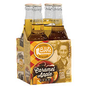 Boots Beverages Caramel Apple Soda 12 oz Bottles
