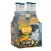 Boots Beverages Coconut Cream Soda 12 oz Bottles
