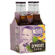 Boots Beverages Dewberry Soda, 4 PK Bottles