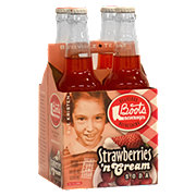 Boots Beverages Strawberries 'N Cream Soda 12 oz Bottles