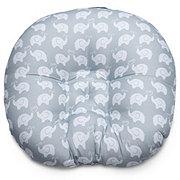 Boppy Newborn Lounger Elephant Love Grey