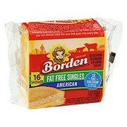 Borden American Cheese Singles, Fat Free