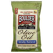 Boulder Canyon Boulder Olive Oil Kettle Cooked Potato Chips