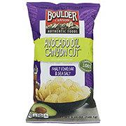 Boulder Canyon Kettle Cooked Malt Vinegar & Sea Salt Chips